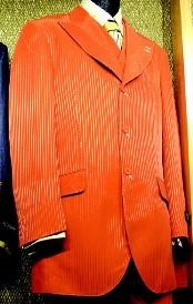 SKU * RB647 3 piezas traje de Moda Naranja
