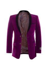 Botón Púrpura lado Respiraderos