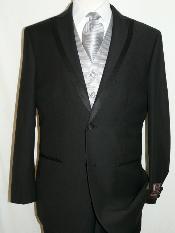 SKU*KA1246 2 Botón de microfibra suave pico solapa esmoquin y pantalones