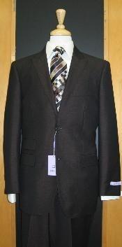 SKU * 824 2 Botón pico solapa Negro Erodesent cónicos Cut Piso Frente traje
