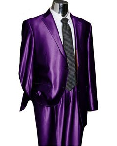Brillante 2 Botón Púrpura
