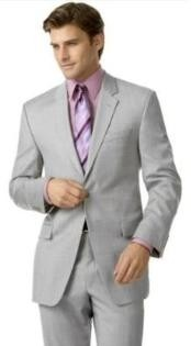 SKU * I + H1 Gris Plata (Very Very Light Gray (Ceniza)) 2 botón del juego de dobles Vent Hombres