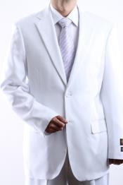 los hombres Blanco Vestir