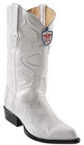 SKU*SD183 Blanco Avestruz Pierna Cuero Piel occidental Vaquero Botas