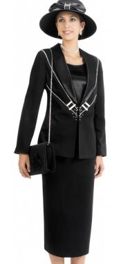 SKU*WO-137 Mujeres 3 Juego de Vestido de Pedazo Negro