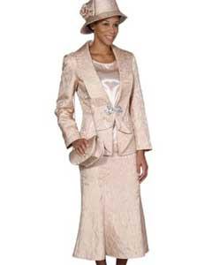SKU*WO-104 Champán 3 pieza Vestir Conjunto para Mujer