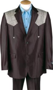 873d393d5c Cocodrilo Negro trajes de vaquero
